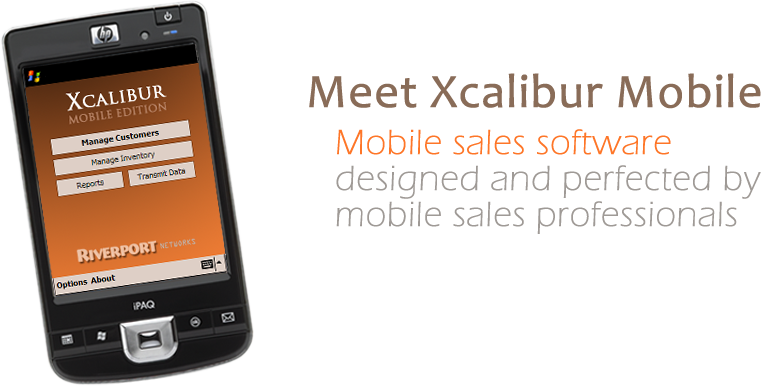 Meet Xcalibur Mobile - Mobile sales software designed and perfected by mobile sales professionals